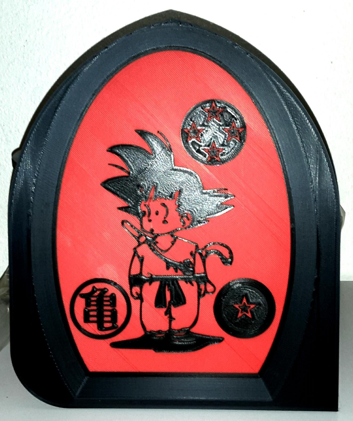 Studio_20190323_064405.jpg Download free STL file Son Goku - San Goku - Dragon Ball - Songoku - Sangoku • 3D print template, yb__magiic