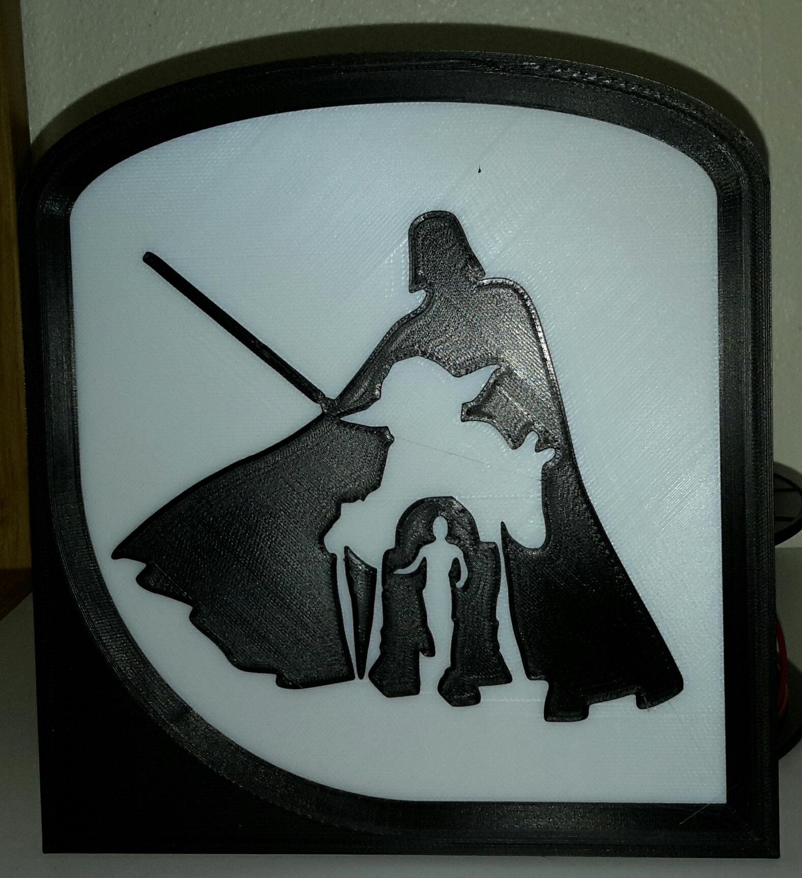Studio_20190321_173826.jpg Télécharger fichier STL gratuit StarWars - Dark Vador - Dark Vader - Yoda - R2D2 - C3PO • Design imprimable en 3D, yb__magiic
