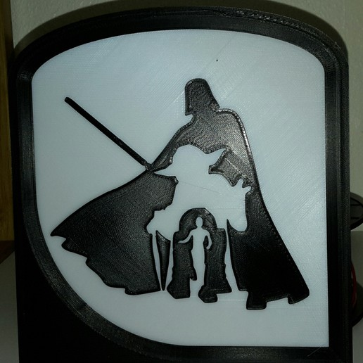 Download free 3D printer designs StarWars - Dark Vador - Darth Vader  - Yoda - R2D2 - C3PO, yb__magiic