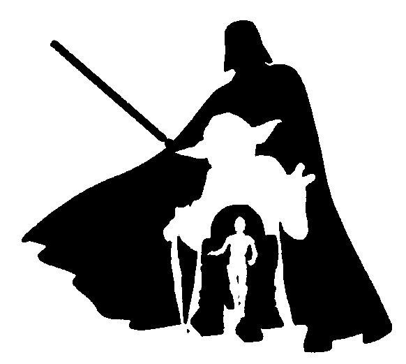 StarWars.jpg Télécharger fichier STL gratuit StarWars - Dark Vador - Dark Vader - Yoda - R2D2 - C3PO • Design imprimable en 3D, yb__magiic
