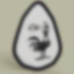 Idefix_Coq.stl Télécharger fichier STL gratuit Idéfix - Coq - Astérix • Design pour impression 3D, yb__magiic