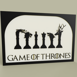 3fca086a-dd46-4546-b832-96809719217e.PNG Download free STL file Game of Thrones - Heraldry • 3D print template, yb__magiic