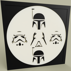 Download free 3D print files Boba Fett - Darth Vader - Stormtrooper, yb__magiic