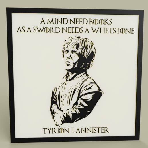 Download free STL file Game of Throne - Tyrion Lannister • Design to 3D print, yb__magiic