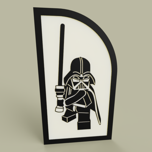 Télécharger objet 3D gratuit StarWars - Dark Vador - Lego StarWars, yb__magiic