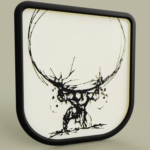 Télécharger fichier STL gratuit Atlas • Design pour imprimante 3D, yb__magiic