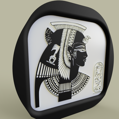 cleopatra.PNG Download free STL file Cleopatra • 3D printable model, yb__magiic