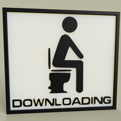 Download free 3D printer files LOL - Toilet - Downloading, yb__magiic