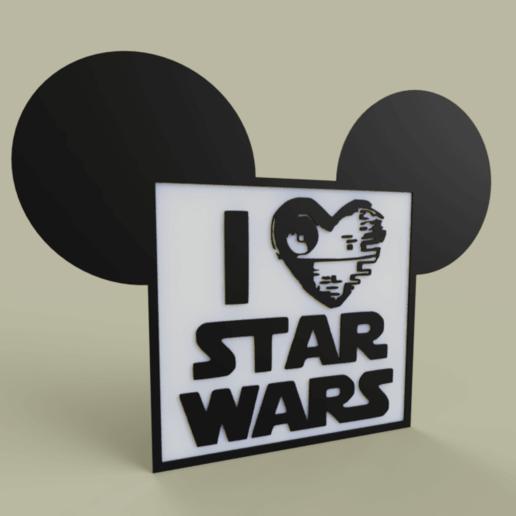 Télécharger objet 3D gratuit i love starwars No2, yb__magiic