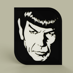 Descargar modelos 3D gratis StarTrek - Spock - L. Nemoy, yb__magiic
