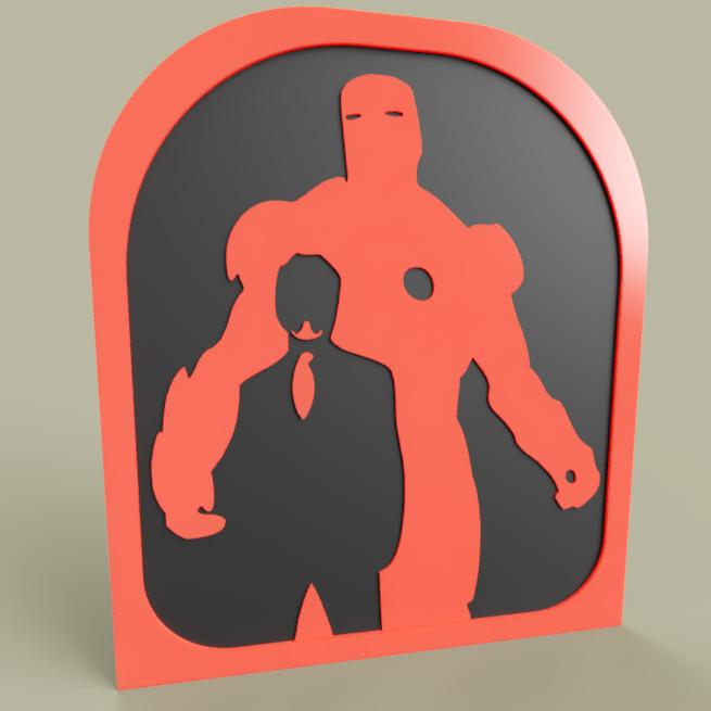 Avenger_TonyStark_IronMan.PNG Télécharger fichier STL gratuit Vengeur TonyStark IronMan • Objet à imprimer en 3D, yb__magiic