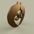 Download free STL files Simple medal, yb__magiic