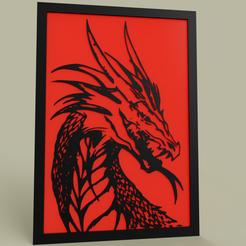 Download free STL Dragon's head, yb__magiic