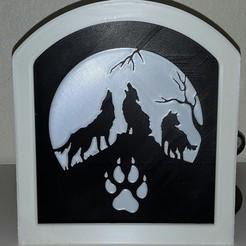 Télécharger objet 3D gratuit Loups hurlants - Loups hurlants, yb__magiic