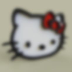 Download free STL Hello Kitty, yb__magiic