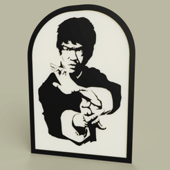 Télécharger fichier STL gratuit Acteur - Bruce Lee • Plan pour impression 3D, yb__magiic