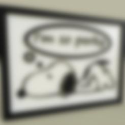 Download free STL files Anime - Snoopy - Im so perky, yb__magiic