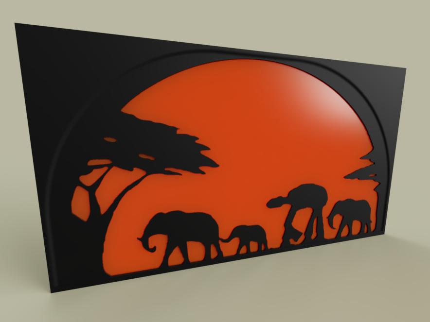StarWars_-_ATAT_-_Elephant_2019-May-16_07-27-04PM-000_CustomizedView9845138943.png Télécharger fichier STL gratuit StarWars - ATAT - Éléphant • Plan imprimable en 3D, yb__magiic