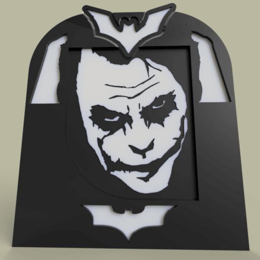 Joker_and_batman.png Télécharger fichier STL gratuit joker - batman V2 • Modèle à imprimer en 3D, yb__magiic