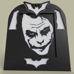 Download free STL file joker - batman V2 • 3D printable model, yb__magiic