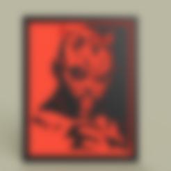 Télécharger objet 3D gratuit StarWars - Dark Maul, yb__magiic
