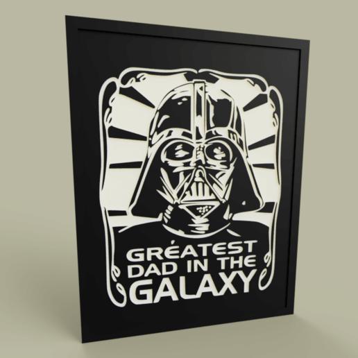 Télécharger plan imprimante 3D gatuit StarWars - Le plus grand père de Dark Vador dans la galaxie, yb__magiic