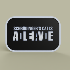 Download free STL file Schrodinder s cat is dead alive, yb__magiic