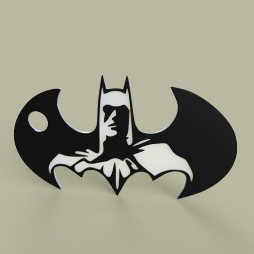 931fca17-408f-4885-ad9a-44952d9a7d5e.PNG Télécharger fichier STL gratuit Batman - Batarang - Porte-clés • Modèle imprimable en 3D, yb__magiic