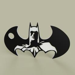 Download free STL files Batman - Batarang - Keychain, yb__magiic