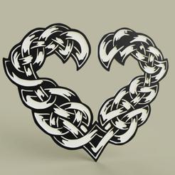 Coeur_Celtique_std.png Télécharger fichier STL gratuit cœur celtique • Objet imprimable en 3D, yb__magiic