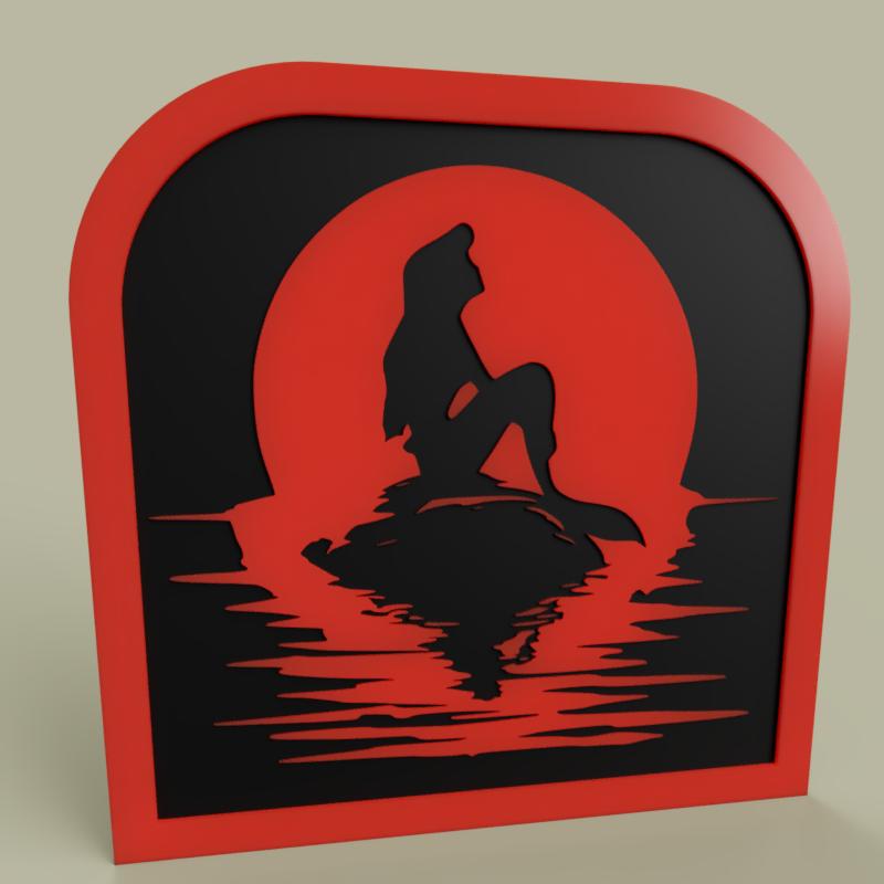 Disney_-_Little_Mermaid_2019-Jun-01_10-30-18PM-000_CustomizedView42457730885.png Télécharger fichier STL gratuit Disney - Petite Sirène • Modèle pour impression 3D, yb__magiic