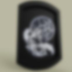Télécharger fichier STL gratuit Attrape Rêve Loup - Loup attrapeur de rêves • Design imprimable en 3D, yb__magiic