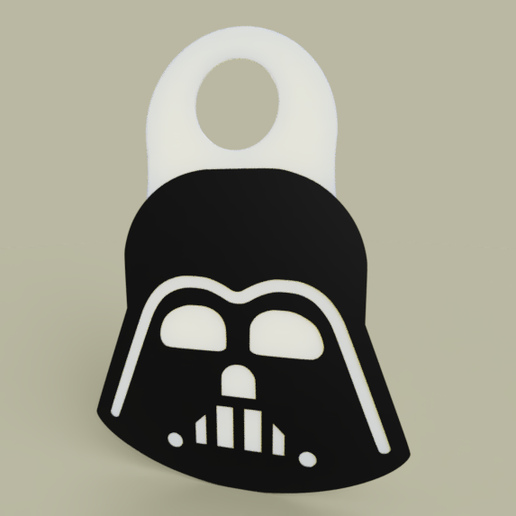 Télécharger fichier STL gratuit StarWars - Dark Vador - Porte-clés • Design pour impression 3D, yb__magiic