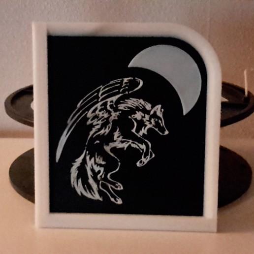 Télécharger fichier imprimante 3D gratuit Loup Ailé - loup ailé, yb__magiic