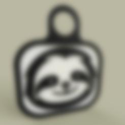 Lol_-_Sloth_-_KeyChain_1_v1.stl Télécharger fichier STL gratuit Lol - Paresseux - Porte-clés 1 • Design à imprimer en 3D, yb__magiic