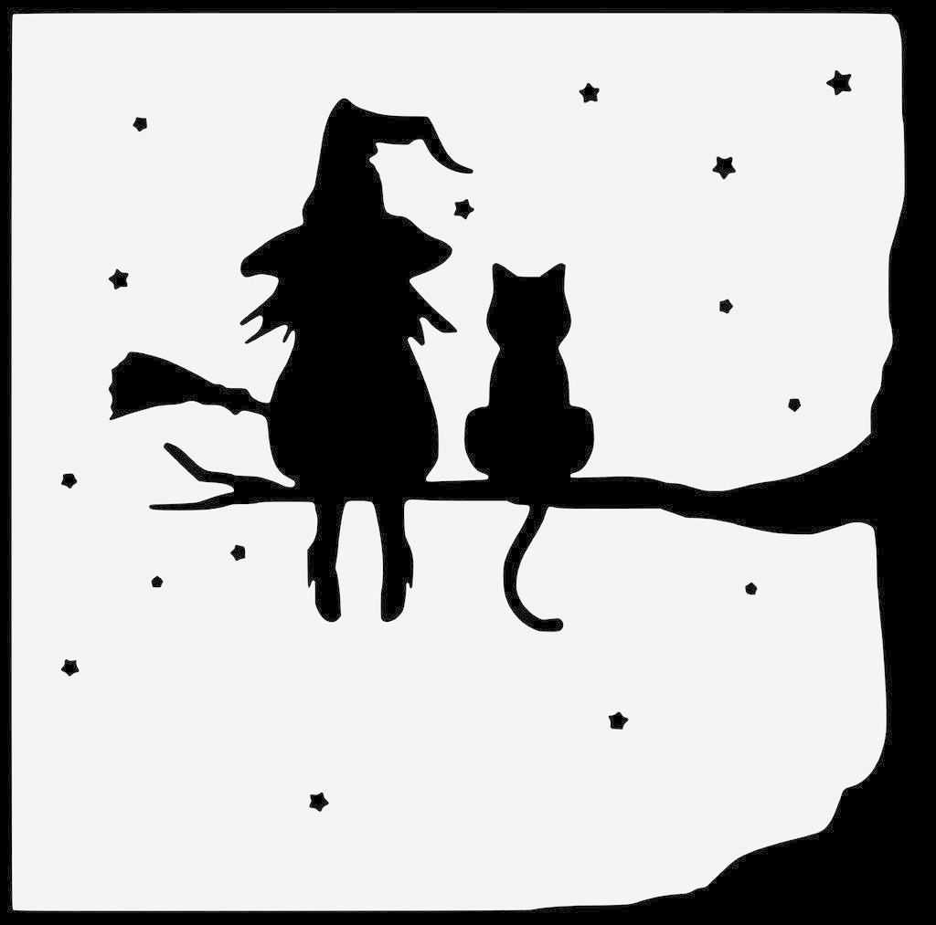 37a9ef87a36faaf424a72ea272bd5eed.png Télécharger fichier STL gratuit la sorcière et son chat - the witch and her cat • Objet à imprimer en 3D, yb__magiic