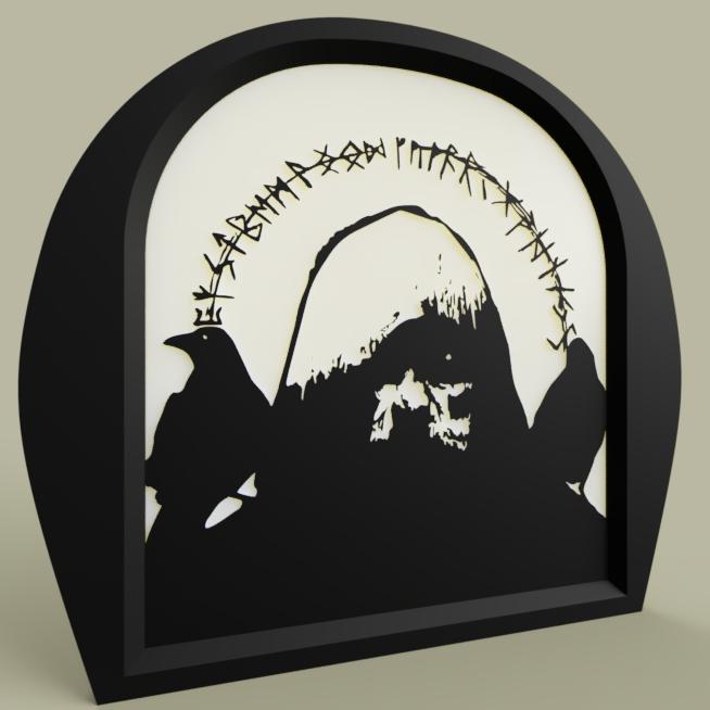 merlin_rune.PNG Télécharger fichier STL gratuit Runes de Merlin • Objet pour imprimante 3D, yb__magiic
