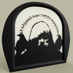 merlin_rune.PNG Download free STL file Merlin Runes • 3D printing template, yb__magiic