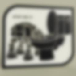 Télécharger STL gratuit StarWars - Les boissons ATAT dans la cuvette des toilettes - NON, yb__magiic