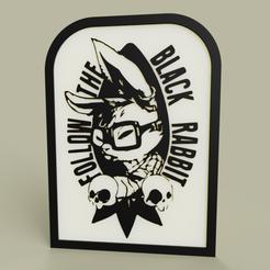 Télécharger modèle 3D gratuit alice au pays des merveilles - Folow the Black Rabbit, yb__magiic