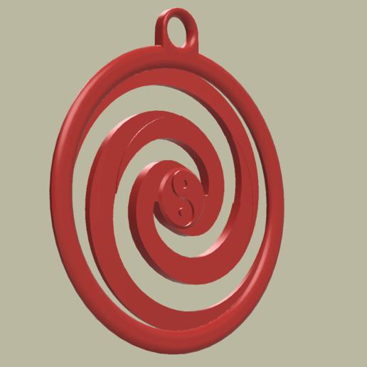 Medaille_YingTang_No1_v1.png Download free STL file Medal Keyring • Model to 3D print, yb__magiic