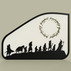 Download free 3D printer designs The Lord of the Rings - Le Seigneur des Anneaux No3, yb__magiic