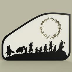 Impresiones 3D gratis El Señor de los Anillos - Le Seigneur des Anneaux No3, yb__magiic