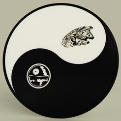 Descargar modelos 3D gratis Starwars - Ying Yang - Estrella de la muerte - Halcón del milenio, yb__magiic