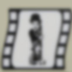 Charlie_Chaplin.stl Télécharger fichier STL gratuit Charlie Chaplin • Design à imprimer en 3D, yb__magiic