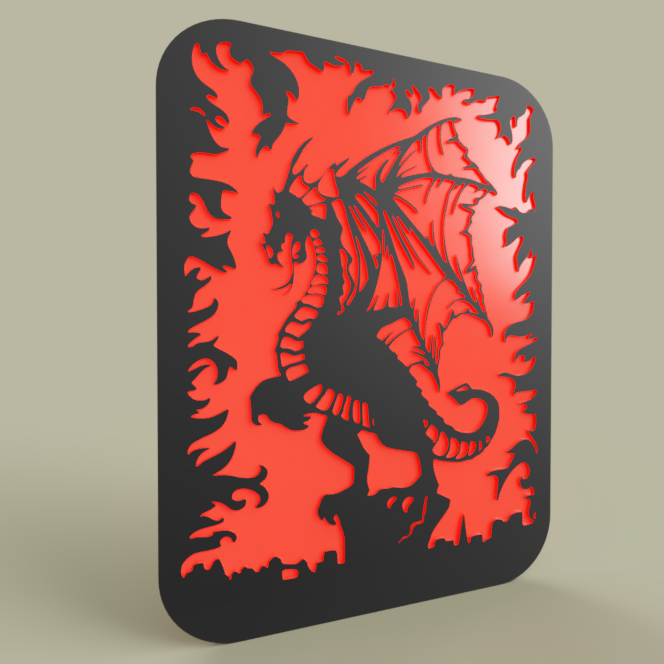 Simple_Dragon_-_Flame_2019-May-06_10-08-41PM-000_CustomizedView18335904442.png Télécharger fichier STL gratuit Simple Dragon - Flamme • Design pour impression 3D, yb__magiic
