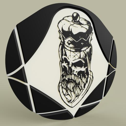 Télécharger fichier STL gratuit Roi Liche - Lich King • Design pour imprimante 3D, yb__magiic