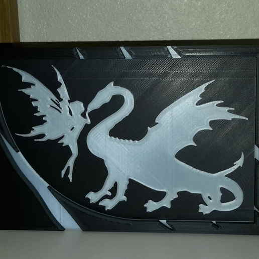 Télécharger objet 3D gratuit Fée & Dragon - Fée & Dragon, yb__magiic