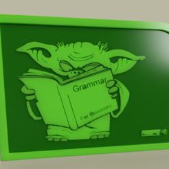Télécharger fichier imprimante 3D gratuit Grammaire Yoda StarWars, yb__magiic
