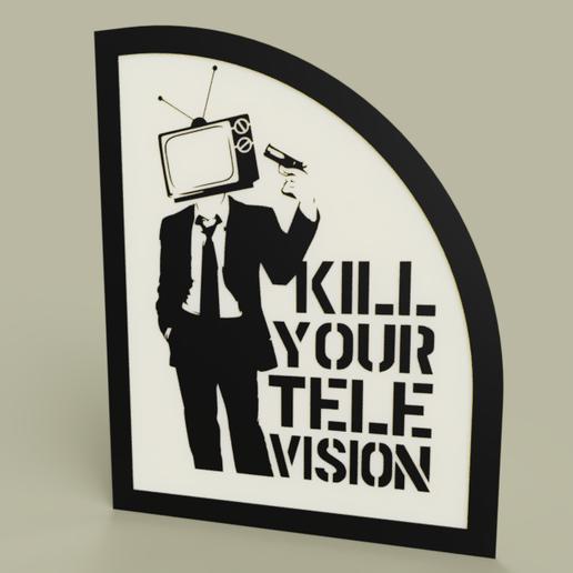 Télécharger plan imprimante 3D gatuit Lol - Tuez votre télévision, yb__magiic